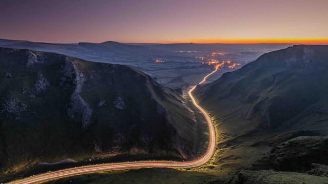 Landscapes at Night runner-up. (Photo by Wesley Chambers/Light Pass/UK Landscape Photographer of the Year 2020)