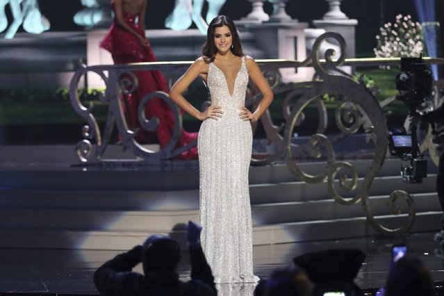 Miss Colombia Paulina Vega onstage during The 63rd Annual Miss Universe Pageant at Florida International University on January 25, 2015 in Miami, Florida. (Photo by Alexander Tamargo/Getty Images)