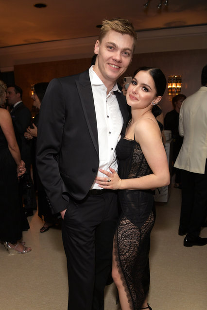 Levi Meaden (L) and Ariel Winter attend the Amazon Prime Video's Golden Globe Awards After Party at The Beverly Hilton Hotel on January 6, 2019 in Beverly Hills, California. (Photo by Emma McIntyre/Getty Images)
