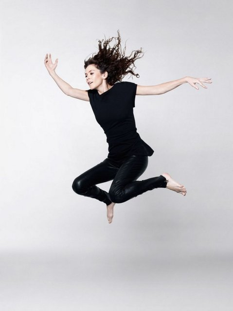 Undated handout photo issued by Oxfam of Anna Friel who took part in a photo shoot with top photographer Rankin for Oxfam's Lift Lives for Good campaign. (Photo by Rankin/PA Wire)
