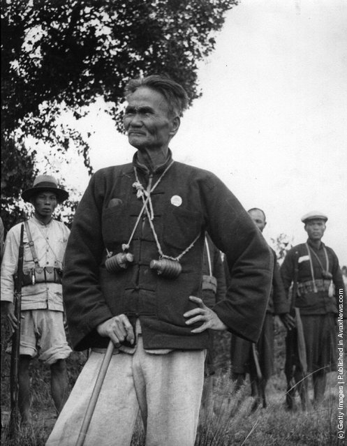 1935: Merchant and military leader Wo Chuk Nam, heroic Chinese fighter in the Sino-Japanese conflict