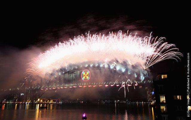 Sydney Celebrates New Years Eve