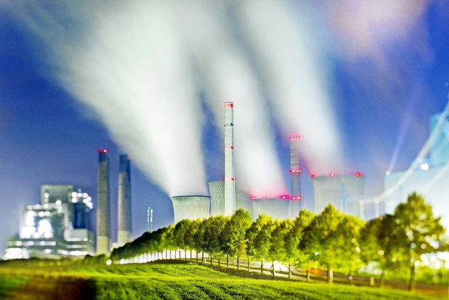 Power station Neurath, Germany. (Photo by Radek Kalhous/Caters News)