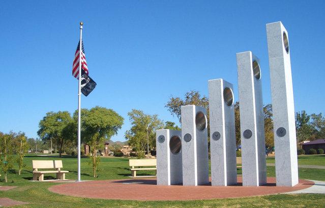 The Anthem Veterans Memorial In Arizona