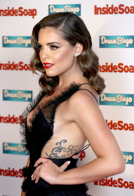 Olympia Valance attends the Inside Soap Awards at The Hippodrome on October 3, 2016 in London, England. (Photo by Mike Marsland/Mike Marsland/WireImage)