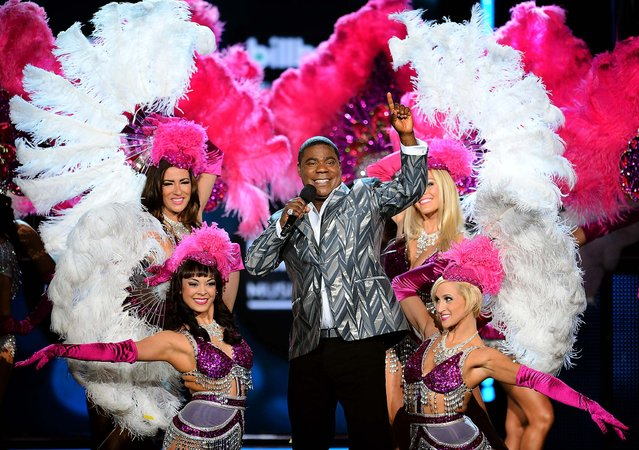 Tracy Morgan hosts the 2013 Billboard Music Awards at the MGM Grand Garden Arena. (Photo by Ethan Miller/Getty Images)