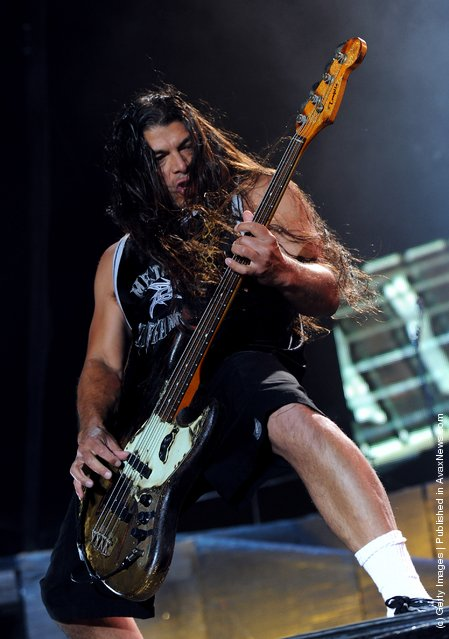 Musician Robert Trujillo of Metallica