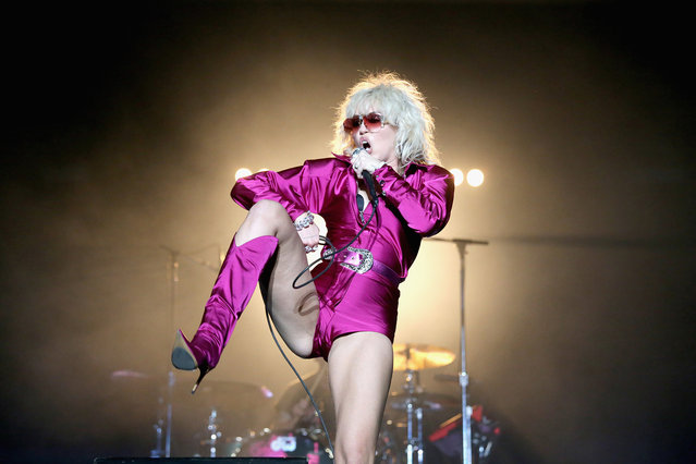 Miley Cyrus performs in concert during day one of Austin City Limits Music Festival at Zilker Park on October 1, 2021 in Austin, Texas. (Photo by Gary Miller/Getty Images for MC)