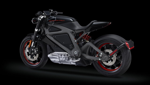 Harley-Davidson introduces an electric motorcycle,  LiveWire edition, making it the first major motorcycle manufacturer in the world to offer a full size bike, not a scooter, like this. (Photo by Harley-Davidson Motor Company)