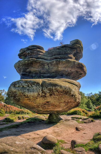 Brimham rocks, Nidderdale North Yorkshire, England
