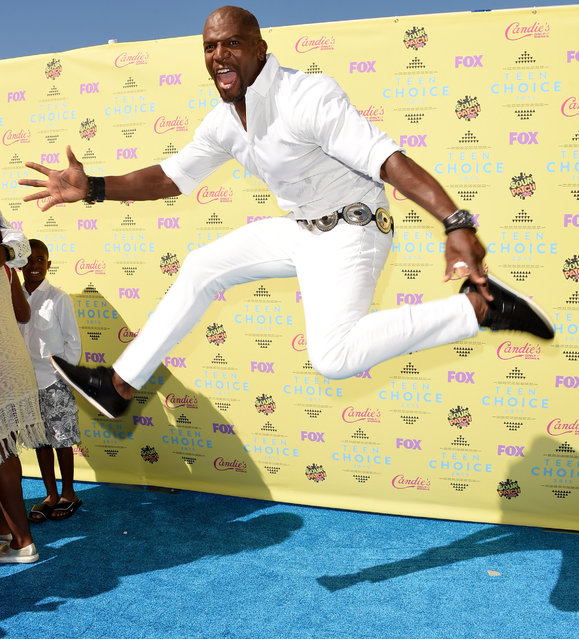 Actor Terry Crews attends the Teen Choice Awards 2015 at the USC Galen Center on August 16, 2015 in Los Angeles, California. (Photo by Jason Merritt/Getty Images)