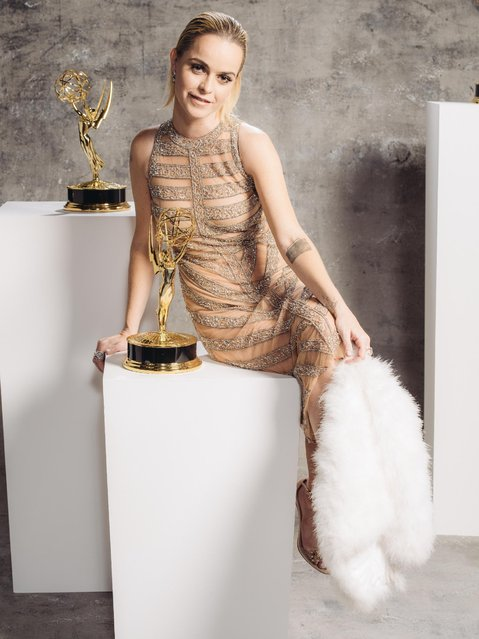 Taryn Manning poses for a portrait at the Television Academy's 67th Emmy Awards Performers Nominee Reception at the Pacific Design Center on Saturday, September 19, 2015 in West Hollywood, Calif. (Photo by Casey Curry/Invision for the Television Academy/AP Images)