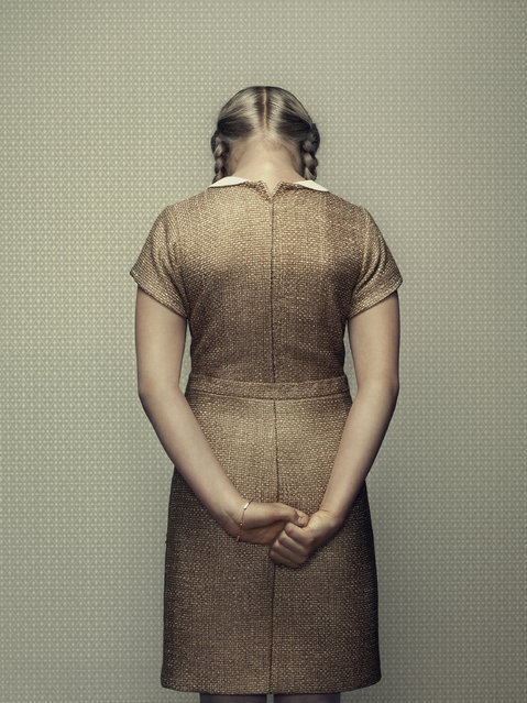 «Emotions» Project. The Keyhole. (Photo by Erwin Olaf)