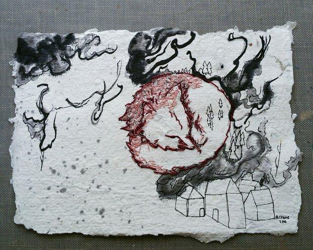 Textile Art By Anny Crane
