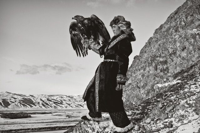 Kazakh nomads have been grazing their livestock in Mongolia for hundreds of years. Fascinated by the bond between hunter and eagle, photographer Palani Mohan has spent the last few years documenting the burkitshi. Mohan's photos of the landscape, isolation of the hunt, and most of all the trusting relationship between man and bird, convey the importance that the eagle plays in their lives. (Photo by Palani Mohan)