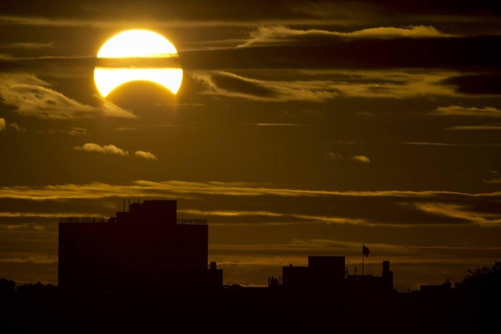 "Rare ""Hybrid"" Total Solar Eclipse"