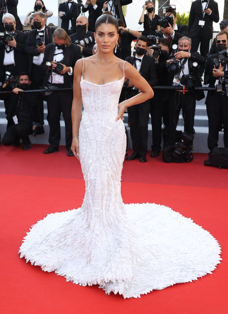 """Content creator Camila Coelho attends the """"Tre Piani (Three Floors)"""" screening during the 74th annual Cannes Film Festival on July 11, 2021 in Cannes, France. (Photo by Mike Marsland/WireImage)"""