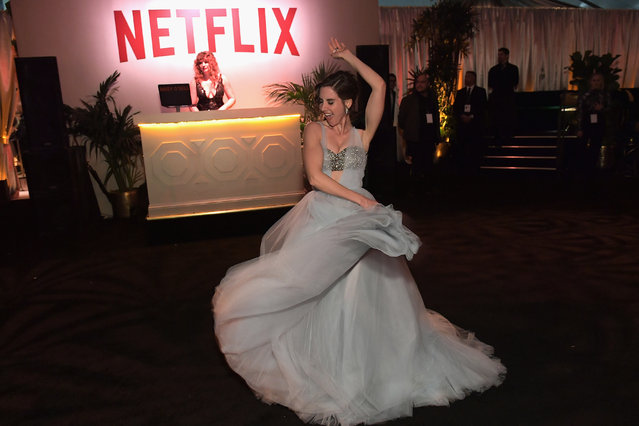Alison Brie attends the Netflix 2019 Golden Globes After Party on January 6, 2019 in Los Angeles, California. (Photo by Charley Gallay/Getty Images for Netflix)