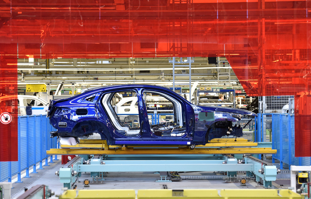 A Look Inside the Mercedes-Benz Plant in Germany