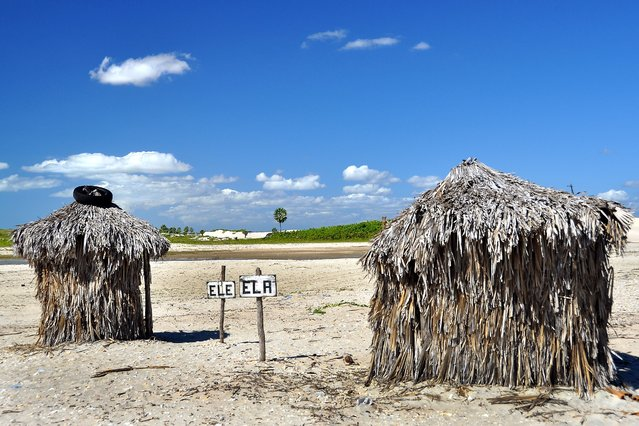 Since the Washington Post blabbed about Jericoacoara being one of the world's best beaches, this erstwhile sleepy village on Brazil's east coast has become a hotspot for travellers questing for blue lagoons, white sand and immense dunes. They've even had to build these his-and-hers palm- frond beach bogs. (Photo by Thomas Heinze/Lonely Planet)