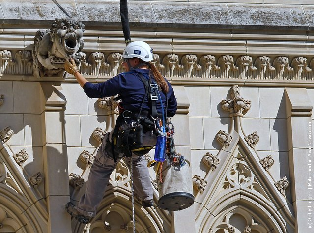 Washington National Cathedral Inspected For Earthquake Damage