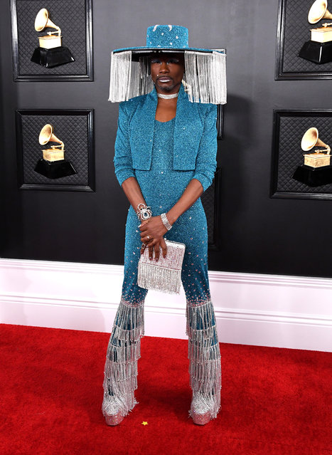 Billy Porter attends the 62nd Annual GRAMMY Awards at Staples Center on January 26, 2020 in Los Angeles, California. (Photo by Jon Kopaloff/FilmMagic)