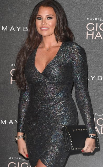 "Jessica Wright attends the Gigi Hadid X Maybelline party held at ""Hotel Gigi"" on November 7, 2017 in London, England. (Photo by Stuart C. Wilson/Getty Images)"