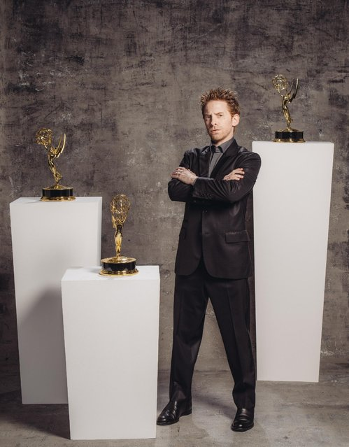 Seth Green poses for a portrait at the Television Academy's 67th Emmy Awards Performers Nominee Reception at the Pacific Design Center on Saturday, September 19, 2015 in West Hollywood, Calif. (Photo by Casey Curry/Invision for the Television Academy/AP Images)
