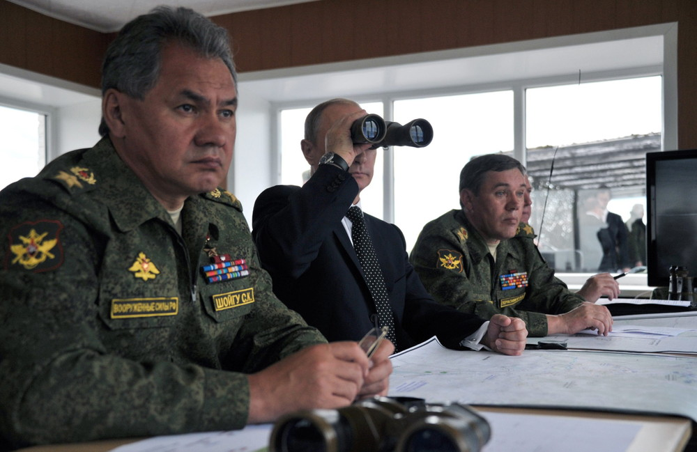 Russia Holds Largest Post-Soviet Military Exercises