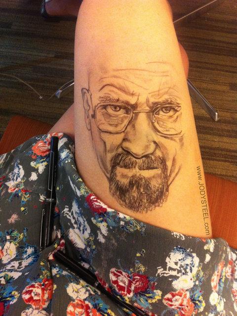 Leg Drawings By Jody Steel