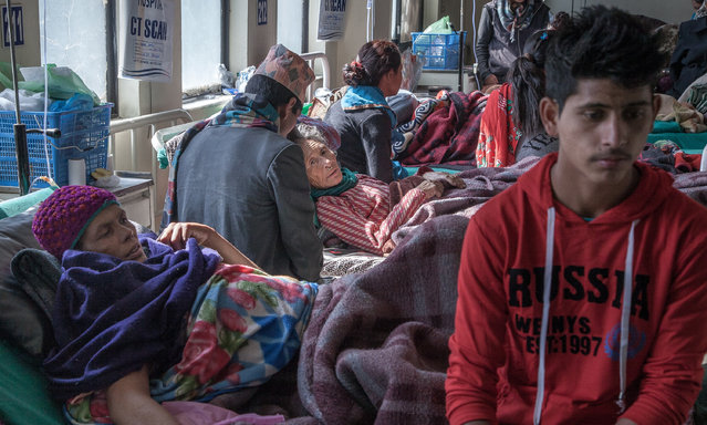 One of the most significant challenges related to cancer in Nepal is the lack of awareness around the prognosis of the disease, as many patients, their families and even healthcare professionals consider cancer to be an incurable disease at any stage. This results in significant delays in bringing patients to hospitals, and high rates of advanced stage cancers and mortality. (Photo by Omar Havana)