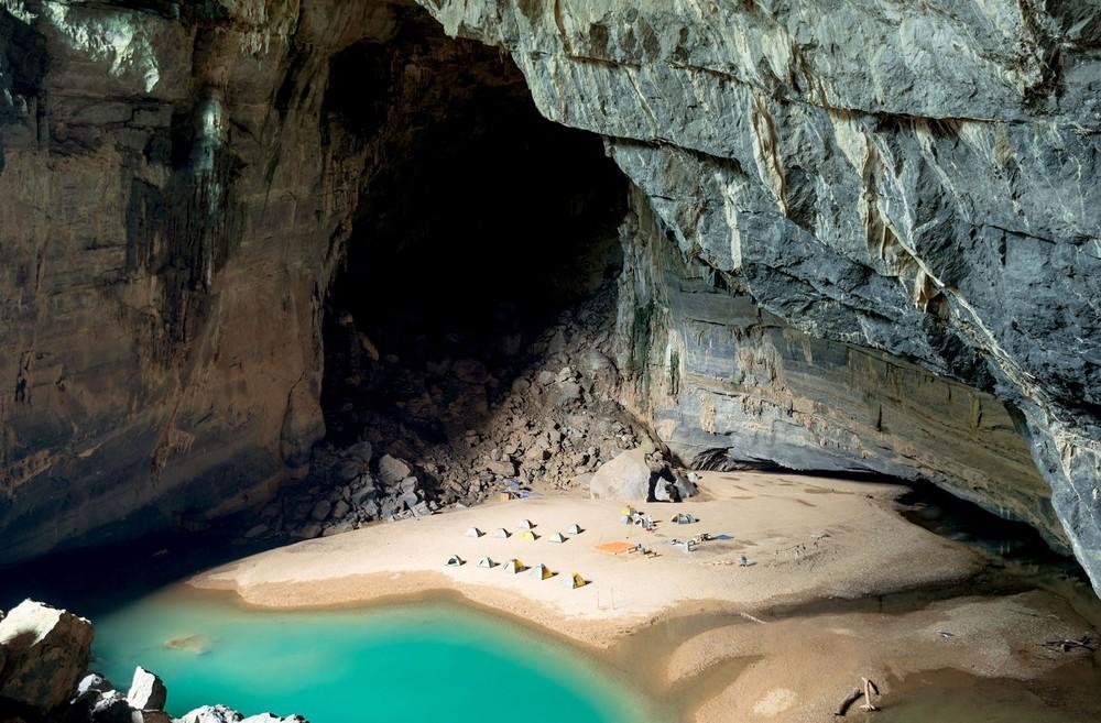 Beach in a Cave