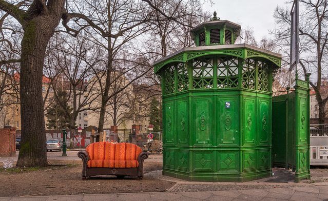 These green Café Achteck (café octagon) pissoirs were erected in Berlin in the late 19th century to accommodate the bursting bladders of an influx of work-seeking men. Each featured seven urinals, with the eighth wall being the door. Of the 142 originals, those that survived wars and redevelopment are protected. (Photo by Claudio De Sat/Lonely Planet)