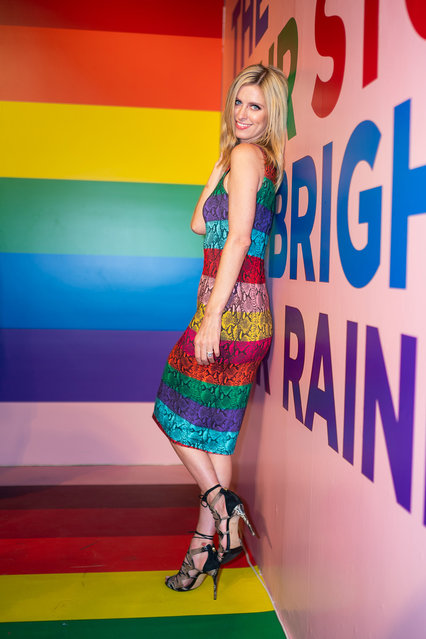Nicky Hilton attends the Summer Kickoff Party for WorldPride hosted by Alice + Olivia by Stacey Bendet and the Trevor Project on June 18, 2019 in New York City. (Photo by Gotham/WireImage)