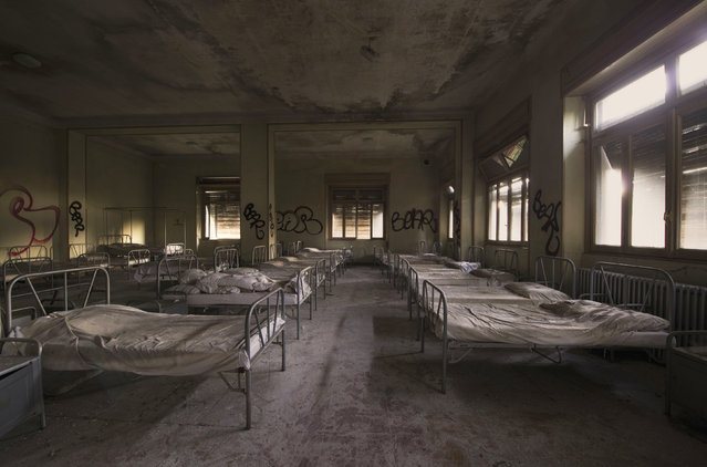 Abandoned Crying Baby Hospital. (Photo by Gaz Mather/Cater News)
