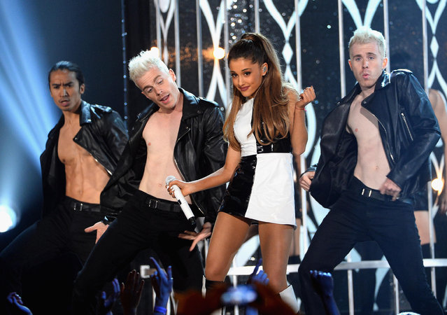 Recording artist Ariana Grande performs onstage during the 2014 Billboard Music Awards at the MGM Grand Garden Arena on May 18, 2014 in Las Vegas, Nevada. (Photo by Ethan Miller/Getty Images)
