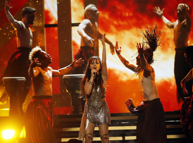 Singer Camila Cabello performs onstage during the 2017 Billboard Music Awards at T-Mobile Arena on May 21, 2017 in Las Vegas, Nevada. (Photo by Mario Anzuoni/Reuters)