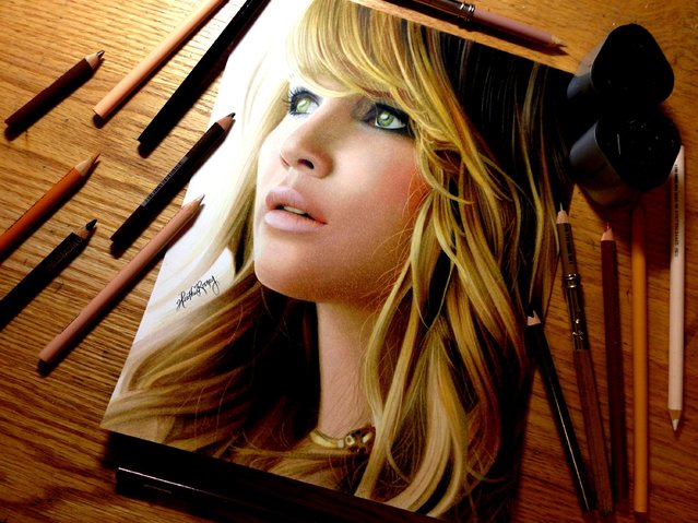 Photorealistic Drawings By Heather Rooney