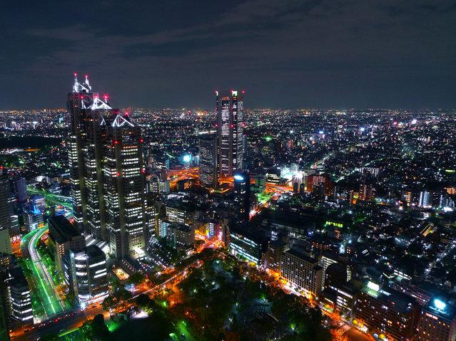 "Tokio, ""City Night Lights"""