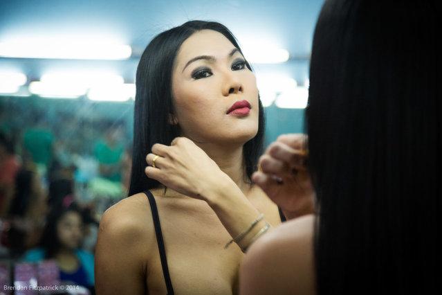 Beauty Shop in Nana Plaza, Bangkok. (Photo by Brendan Fitzpatrick)