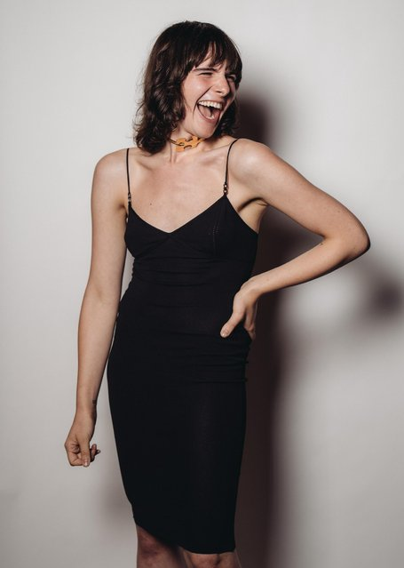 Hari Nef poses for a portrait at the Television Academy's 67th Emmy Awards Performers Nominee Reception at the Pacific Design Center on Saturday, September 19, 2015 in West Hollywood, Calif. (Photo by Casey Curry/Invision for the Television Academy/AP Images)