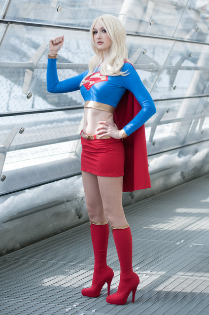 Supergirl, Leipziger Buchmesse 2013, Germany. (Photo by AzurBlueDragon)