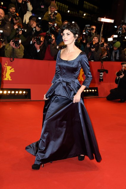 """Actress Juliette Binoche attends the """"Nobody Wants the Night"""" (Nadie quiere la noche) Opening Night premiere during the 65th Berlinale International Film Festival at Berlinale Palace on February 5, 2015 in Berlin, Germany. (Photo by Pascal Le Segretain/Getty Images)"""