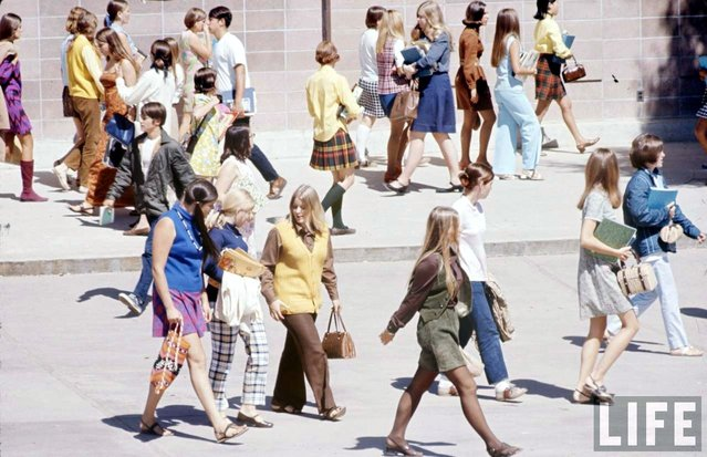Students at Woodside High in California, 1969. (Photo by Arthur Schatz/Time & Life Pictures/Getty Images)