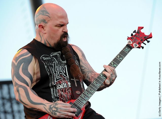 Musician Kerry King of Slayer