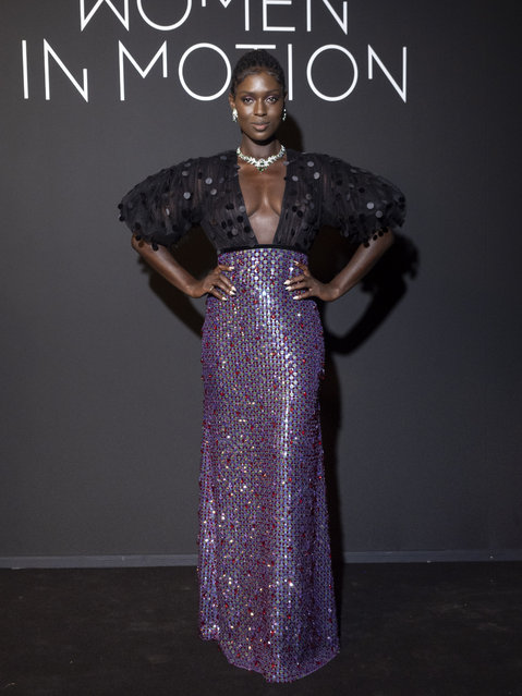 British actress and model Jodie Turner-Smith attends the Kering Women In Motion Awards during the 74th annual Cannes Film Festival on July 11, 2021 in Cannes, France. (Photo by Arnold Jerocki/FilmMagic)