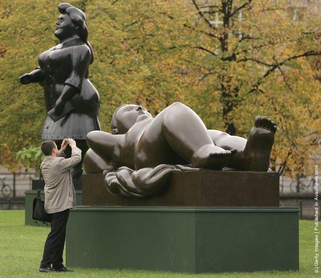 Sculptures By Fernando Botero