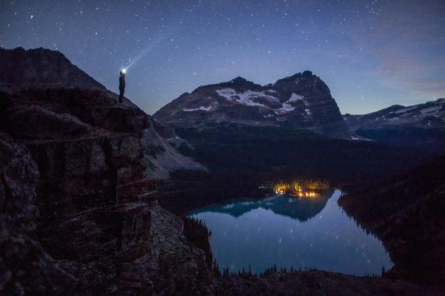 Lake O'Hara, Yoho National Park, British Columbia, Canada. (Photo by Paul Zizka/Caters News Agency)