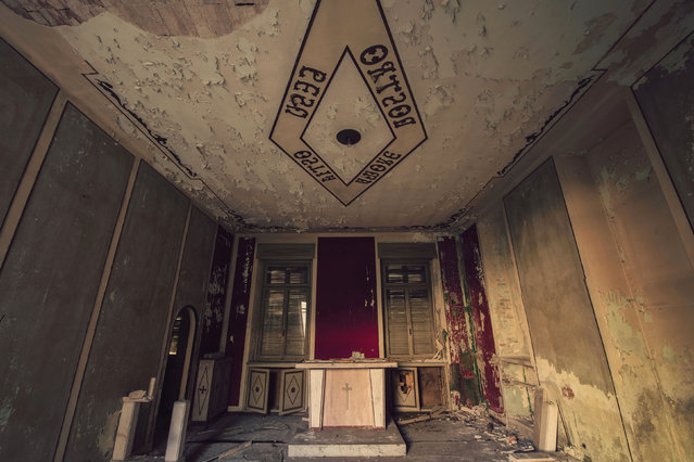 Abandoned Alter Ospedalee. (Photo by Gaz Mather/Cater News)