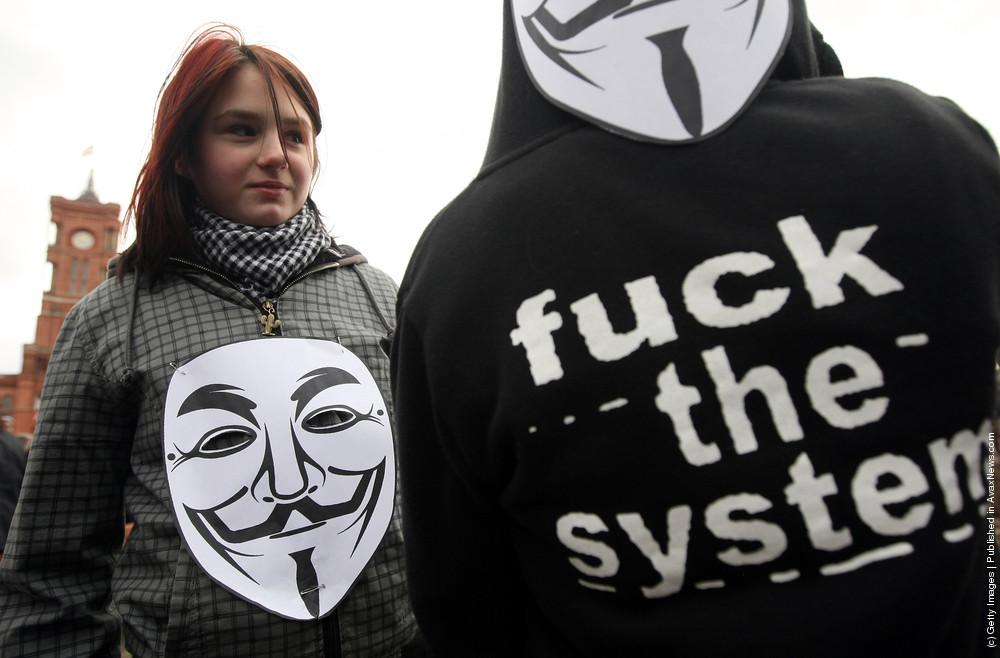 Activists Protest ACTA Proposal